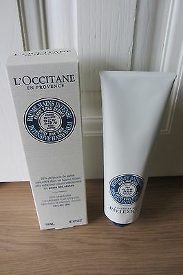 L'occitane 25% Shea Butter Very Dry Skin Hand Balm 150Ml  New & Boxed ~ Free P&p