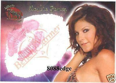 2006 Benchwarmer Authentic Lip Kiss: Leslie Gomez #14 Of 16 Card