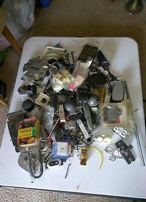 A 20 Pound Lot Miscellaneous Items Of Bolts , Screws And Bunch Random Things