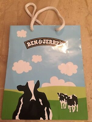 Ben & Jerry's Ice Cream Gift Bag Vermont's Finest Cows