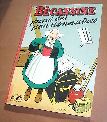 BECASSINE PREND DES PENSIONNAIRES. Edt 1951. TBE.