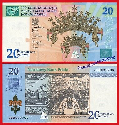POLONIA POLAND 20 Zlotych 2017 Commemorative in Folder Pick NEW SC / UNC