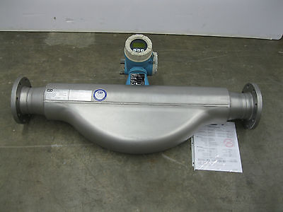 """4"""" 150# Endress Hauser 83F1H Promass 83 F Flowmeter CALIBRATED Z22 (1947)"""