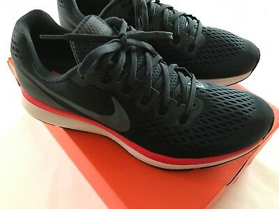 chaussure de running baskets nike air zoom pegasus 34 pointure 43 neuf bleu