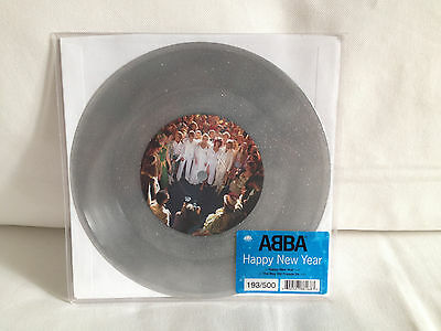 """ABBA Single 7"""" Happy New Year Limited Edition!!!"""