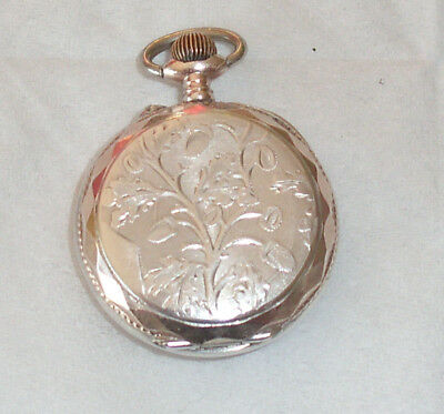 montre gousset de poche pocket watch gosilver argent et or