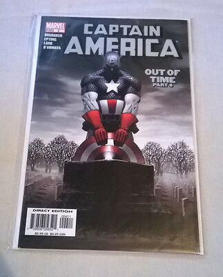 Captain America #4 Out of Time Part 4