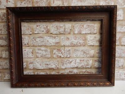 """old picture frame ART DECO fits a 17 inch X 12"""" painting"""