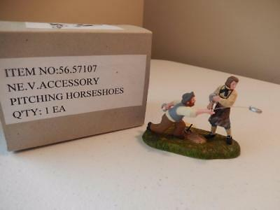 Department 56 - Pitching Horseshoes #56.57107 (Free Shipping)