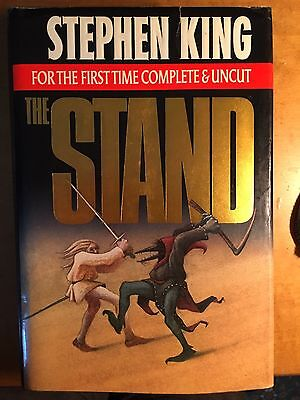 STEPHEN KING The Stand Uncut First Edition Very Good