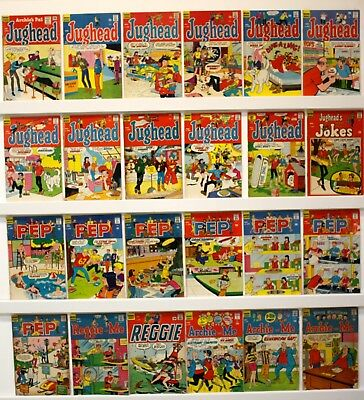 Archie mixed bag lot of 86 Silver age assorted titles  No doubles  VG mostly