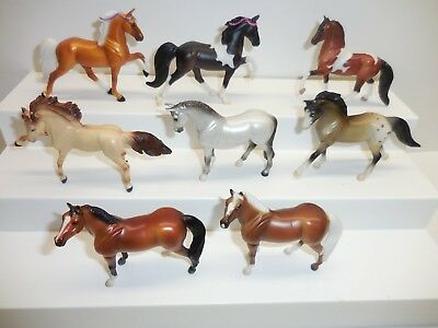 Breyer Reeves Stablemates Horse Rearing Andalusian, Standing Thoroughbred