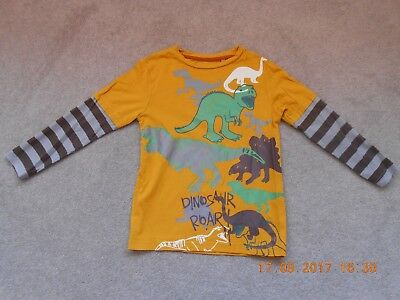 Boy's Dinosaur Top, Age 4 To 5 Years
