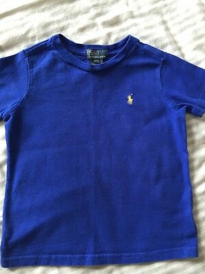 Ralph Lauren Polo Boys T-shirt 3T Blue
