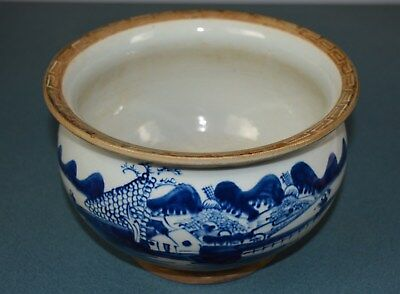 Fine Chinese Blue And White Porcelain Pot Rare Gv7099