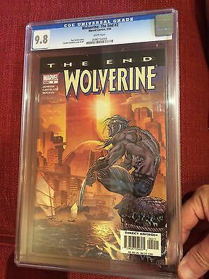 Wolverine The End #2 CGC 9.8!