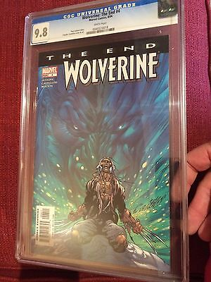 Wolverine The End #4 CGC 9.8!