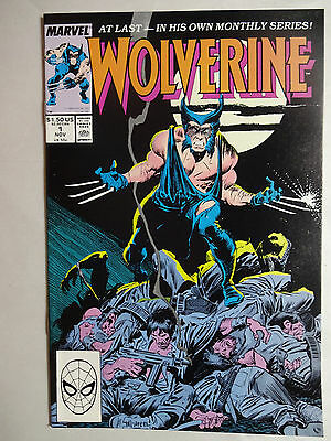 Wolverine #1   High Grade  NM-   1st Appearance of Patch (Wolverine)