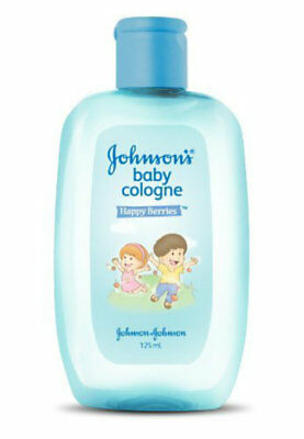 Johnson's Baby Cologne Happy Berries 125ml