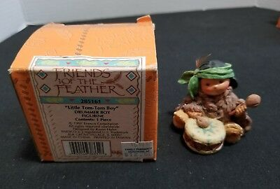 Enesco Friends of the Feather Little TOM-TOM Boy Figurine 1997
