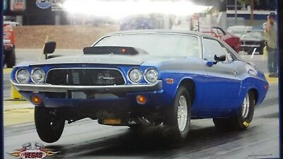 1973 Dodge Challenger drag car W/ enclosed trailer