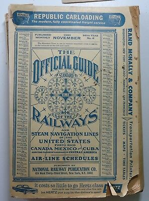 Official Guide of the Railways  -  November 1963