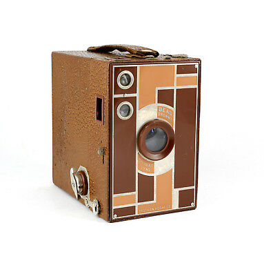 Beau Brownie Kodak Box Camera - Brown - Walter Dorwin Teague - Art Deco