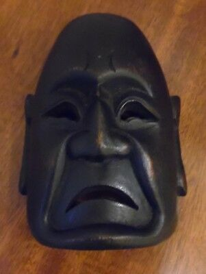 Chinese Miniature Vintage Hand-Carved Mask
