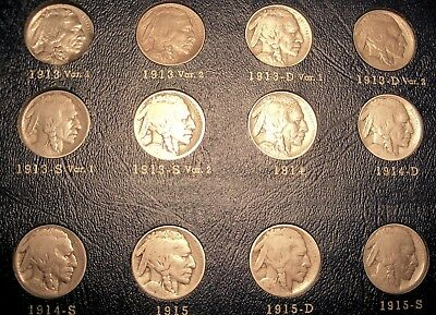 Compete 64 Coin Buffalo Nickel Collection