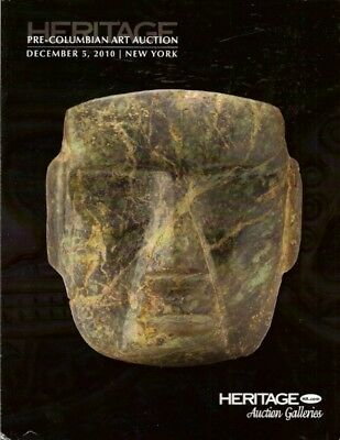 HERITAGE PRE-COLUMBIAN ART PERU MAYA GOLD Auction Catalog 2010