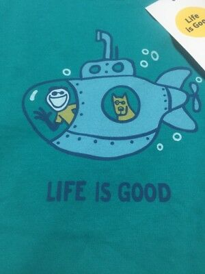 "Boys/Girls Toddler ""Life Is Good"" Shirt Size 4T NWT"