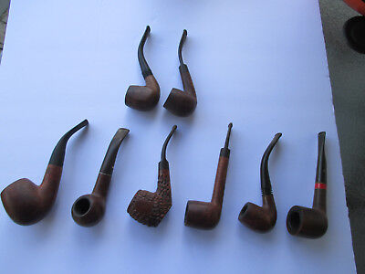 Vintage Lot of 8 Used Pipes