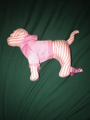 Victorias Secret Pink Mini Dog In Sweatshirt