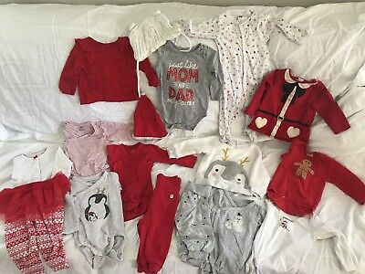 Baby Clothes 4-6 Month Christmas H&M Carters