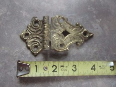 Estate Find Cast Decorative Hinge Victorian