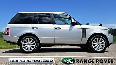 2011 Land Rover Range Rover SUPERCHARGED SC 510hp 2011 Silver SUPERCHARGED SC 510hp!