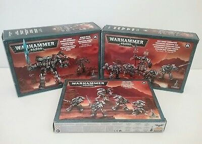 Grey Knights lot, Knights + Terminators + Dreadknight all in box Warhammer 40k