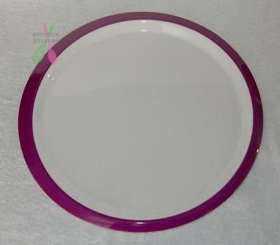 Tupperware Fiesta Charger Plate / Platter x 1 - New Purple