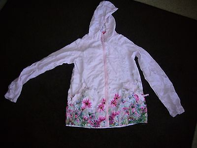 Its raining, Jack in a Pack girls waterproof jacket with floral pattern Sz 11_12