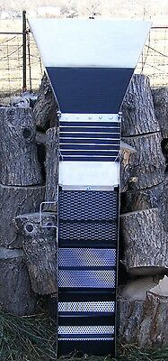 10 Inch - Monster  Sluice Box  with Extra Big Flare & Guts - ( Custom Made )