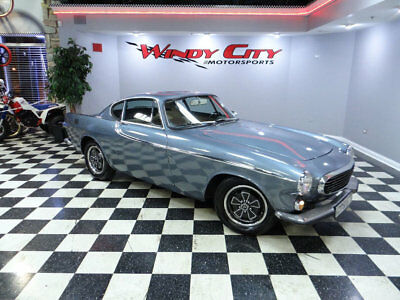 1971 Volvo P1800  1971 Volvo P1800E Coupe 4-Speed Manual Low Miles Original Clover Rims Very Solid