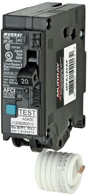 Circuit Breaker 20-Amp 1-Pole Combination Arc Fault Single Phase 1-In 1 Pack