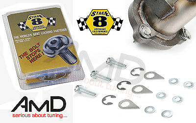Stage 8 Locking Bolt Kit Focus ST and Focus RS 2.5T Downpipe Locking Bolts 3905