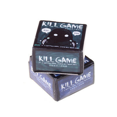 Mini Party Game KILL GAME Board Game Party Cards for family friend party game