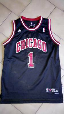 Mens Adidas NBA Chicago Bulls Jersey #1 Derrick Rose - Size M - Brand New No Tag