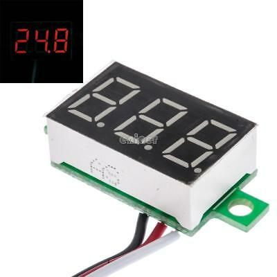 0.36 pulgadas DC 0-30V LED Panel medidor de voltaje 3-Digital Display ENE