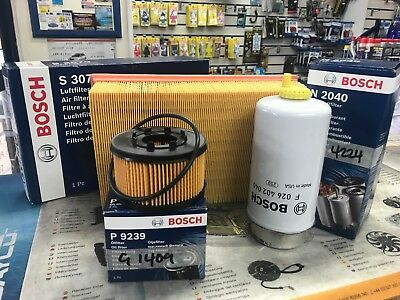 FORD TRANSIT MK6 2000-2006 SERVICE KIT AIR/OIL/FUEL FILTERS free next day