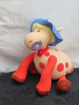 The Magic Roundabout: Talking Ermintrude the Cow Soft Plush toy