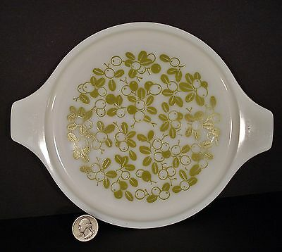 Pyrex Green Olive LID Only, no bowl #24-C25