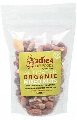 2DIE4 LIVE FOODS Mixed Nuts 120g